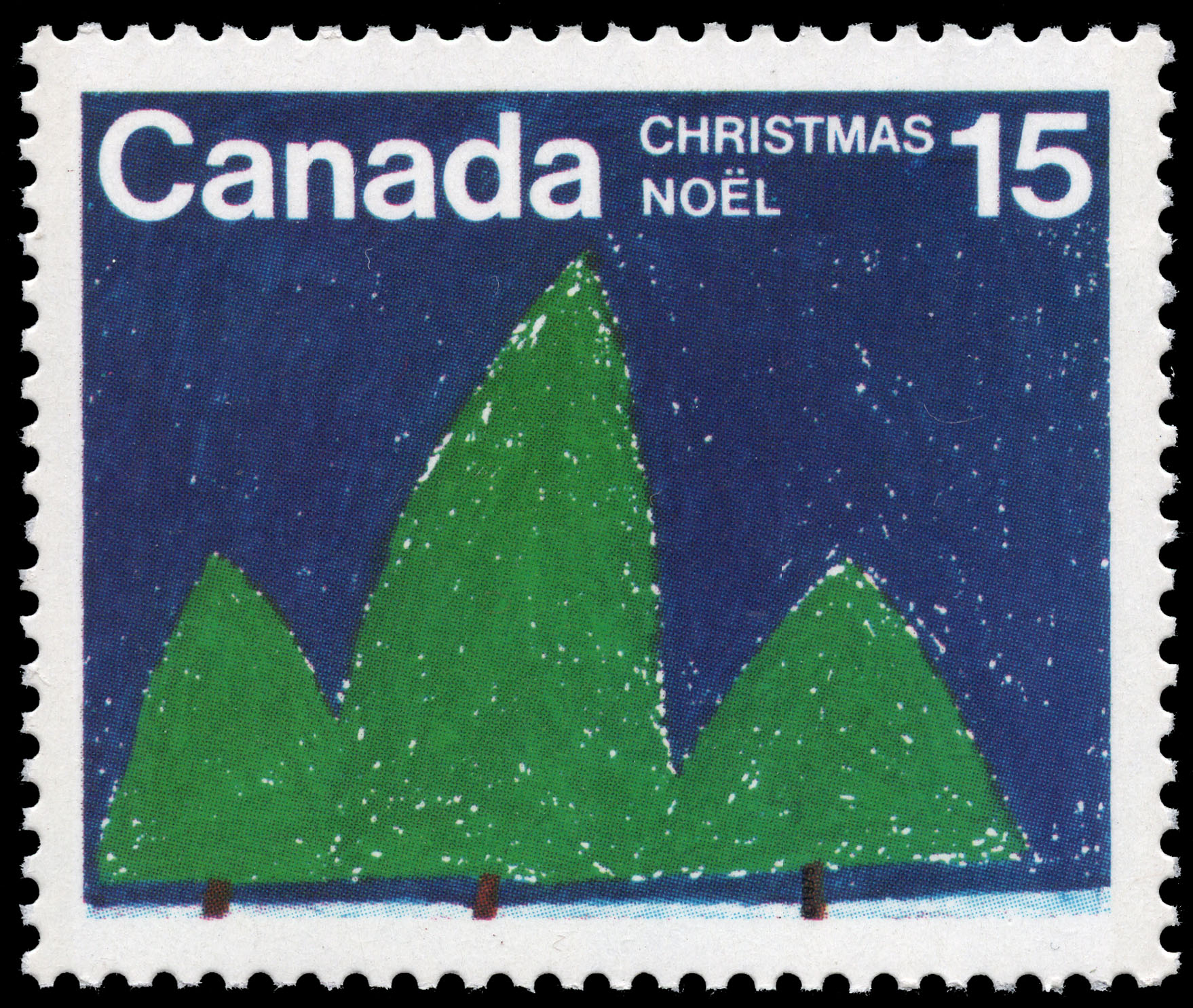 Trees Canada Postage Stamp | Christmas