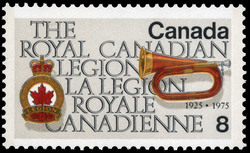 The Royal Canadian Legion, 1925-1975 Canada Postage Stamp