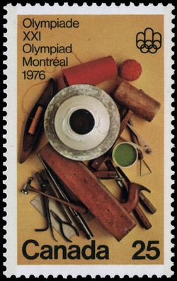 Handicrafts Canada Postage Stamp | 1976 Olympic Games, Arts & Culture Programme