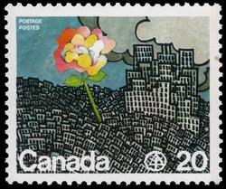 Habitat Canada Postage Stamp