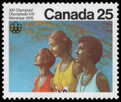 Victory Ceremony Canada Postage Stamp | 1976 Olympic Games, Ceremonies