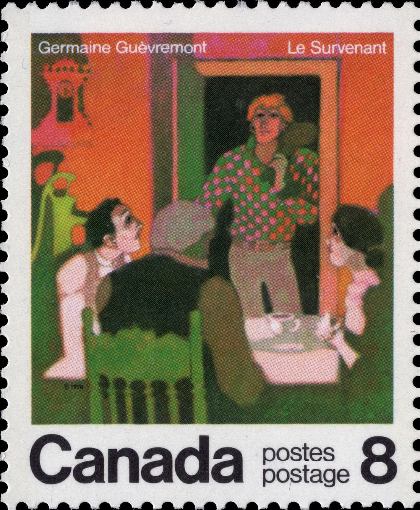 Germaine Guevremont, Le Survenant Canada Postage Stamp