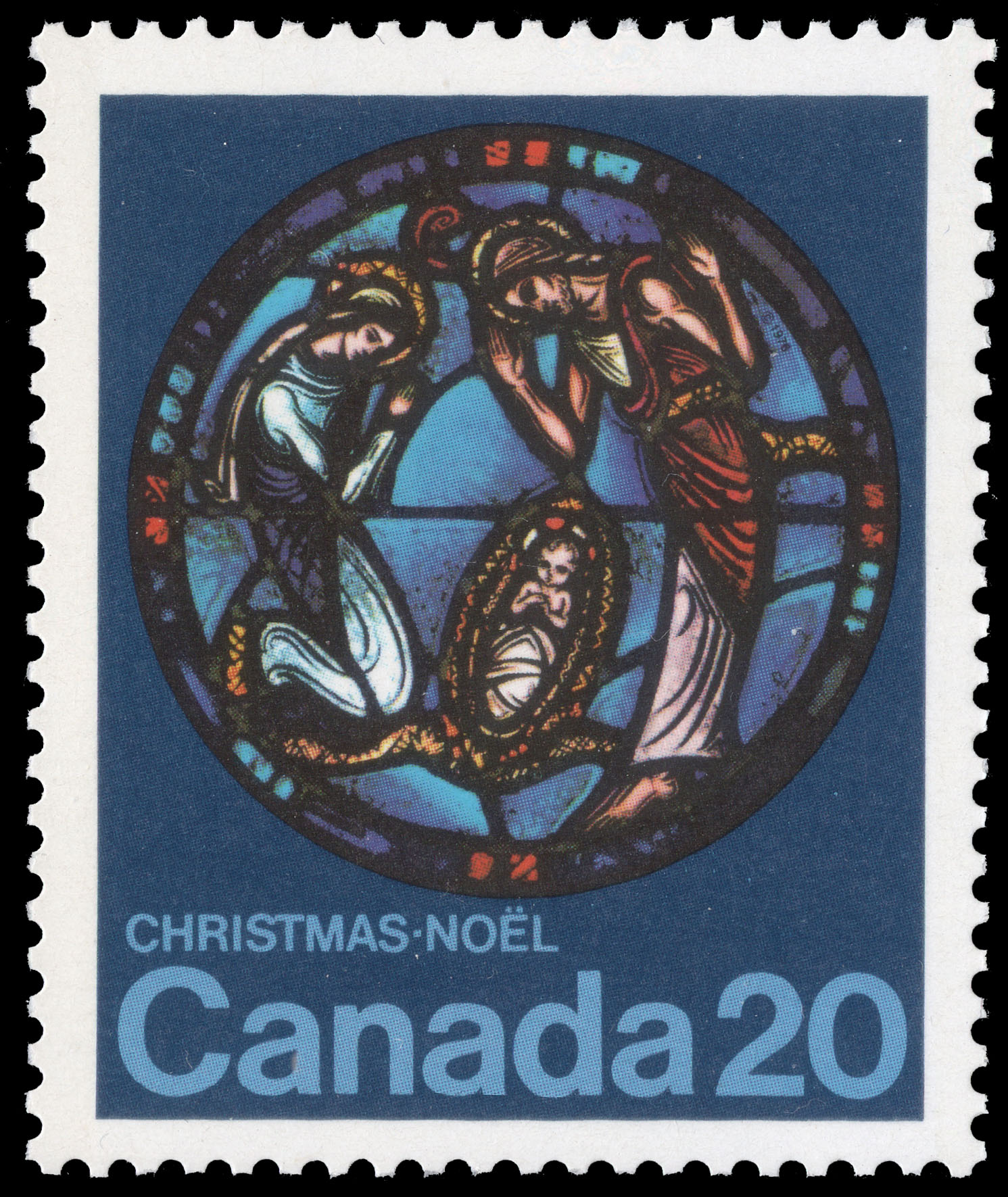 Nativity Canada Postage Stamp