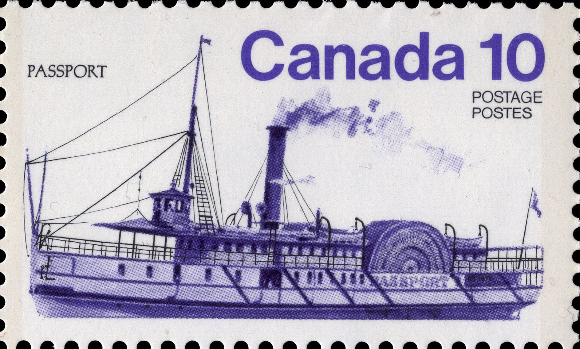Passport Canada Postage Stamp