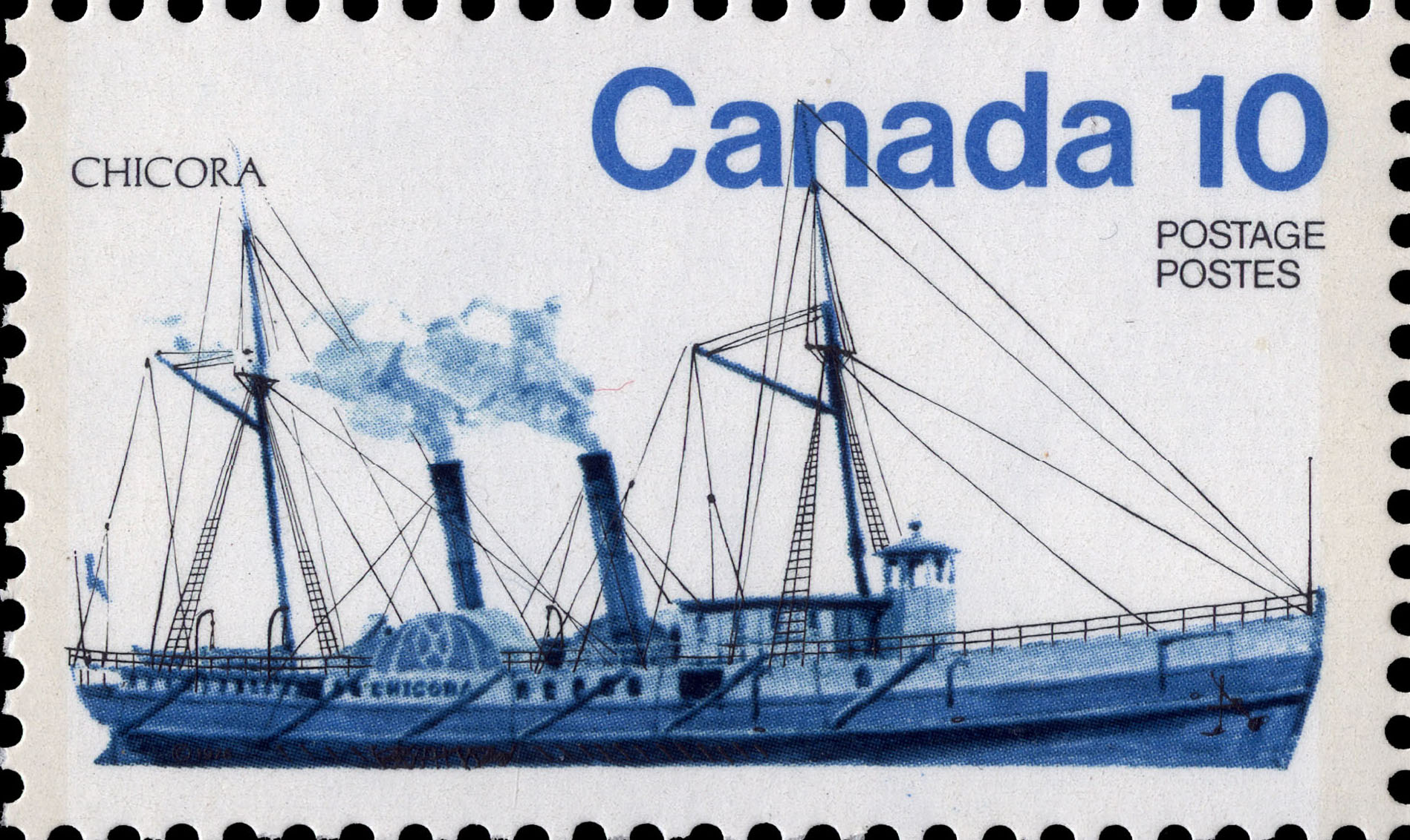 Chicora Canada Postage Stamp | Ships of Canada, Inland Vessels