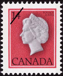 Queen Elizabeth II Canada Postage Stamp | Queen Elizabeth Definitives