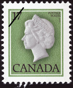 Queen Elizabeth II Canada Postage Stamp | Queen Elizabeth Definitives