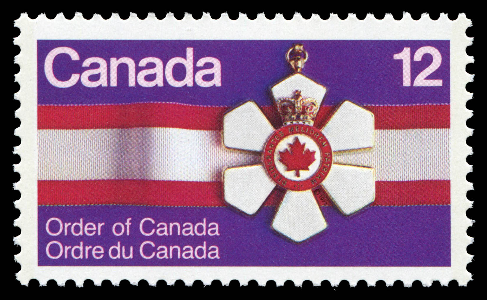 Order of Canada Canada Postage Stamp