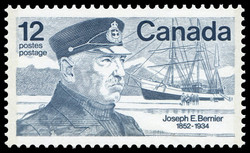 Joseph-Elzear Bernier, 1852-1934 Canada Postage Stamp