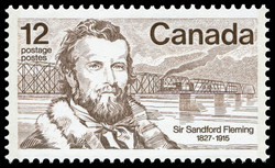 Sir Sandford Fleming, 1827-1915 Canada Postage Stamp