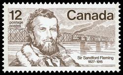 Sir Sandford Fleming, 1827-1915 Canada Postage Stamp