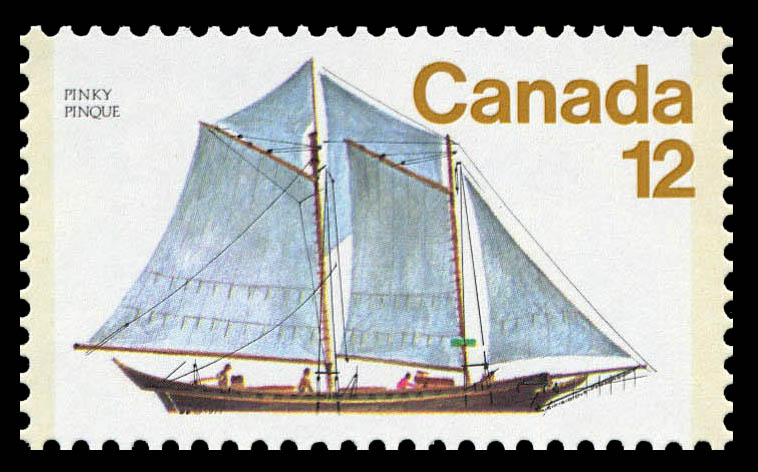 Pinky Canada Postage Stamp