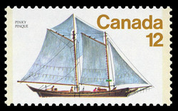 Pinky Canada Postage Stamp | Ships of Canada, Sailing Vessels