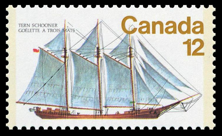 Tern Schooner Canada Postage Stamp
