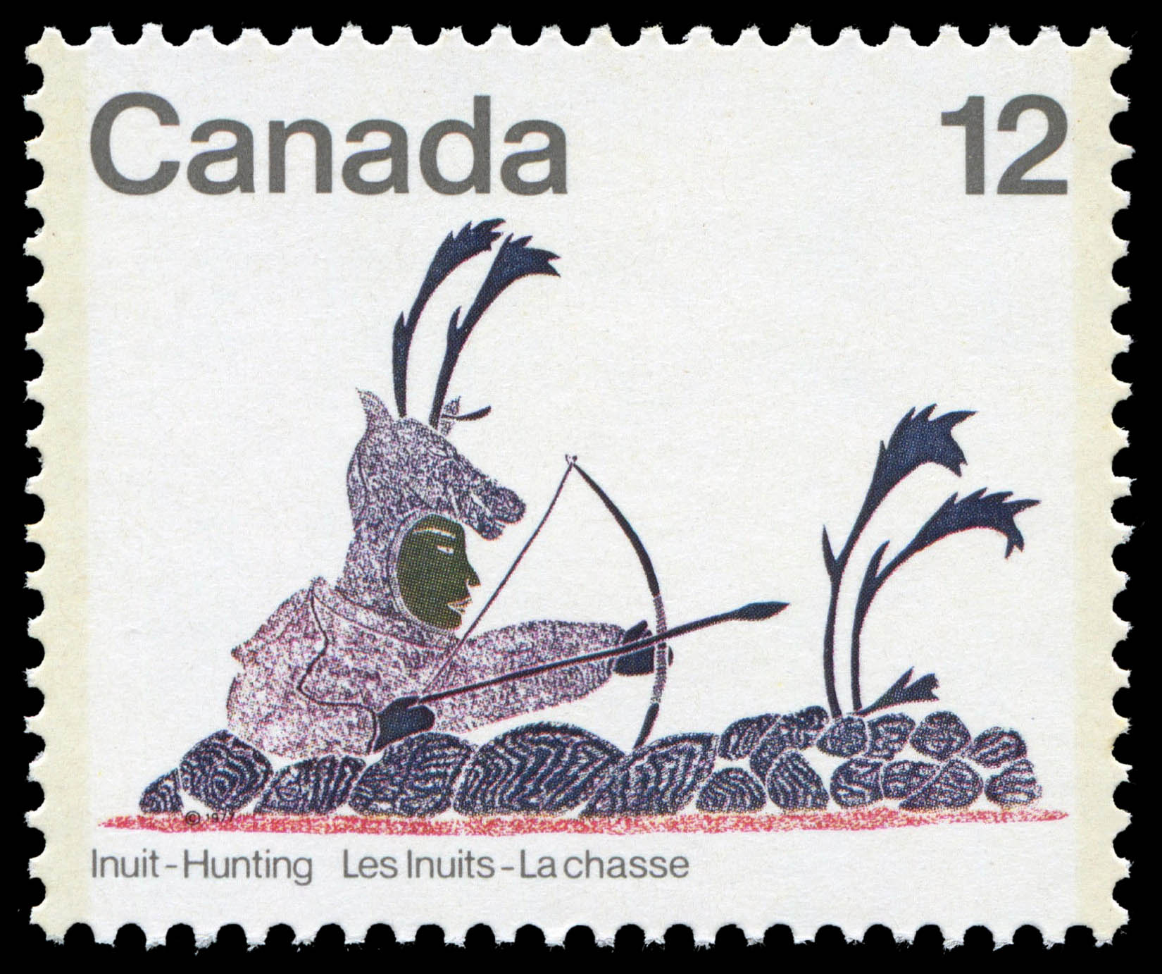 Disguised Archer Canada Postage Stamp
