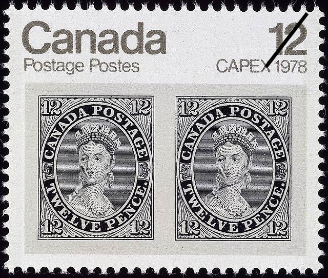 12d Queen Victoria Canada Postage Stamp | CAPEX 1978