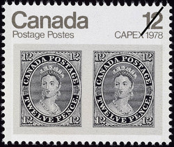 CAPEX 1978 Canadian Postage Stamp Series