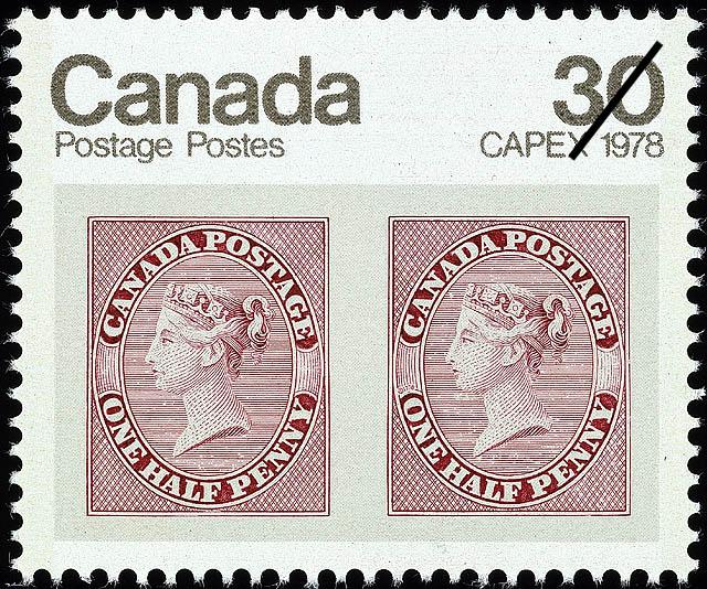 ½d Queen Victoria Canada Postage Stamp