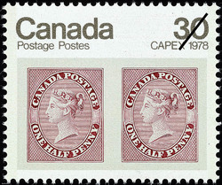 ½d Queen Victoria  Postage Stamp