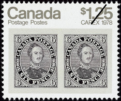 6d Prince Albert Canada Postage Stamp | CAPEX 1978