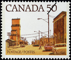 Streets of Canada Canadian Postage Stamp Series