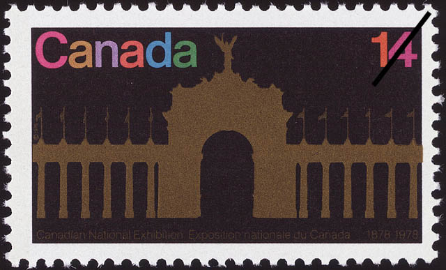 Canadian National Exhibition, 1878-1978 Canada Postage Stamp