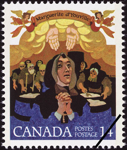 Marguerite d'Youville Canada Postage Stamp