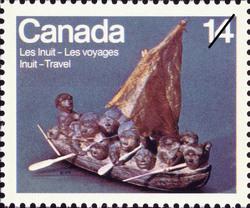 Migration Canada Postage Stamp | Inuit, Travel
