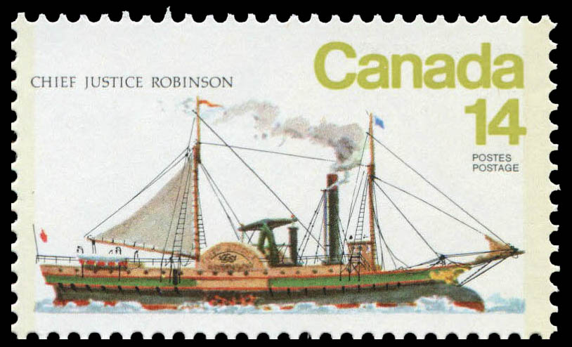 Chief Justice Robinson Canada Postage Stamp