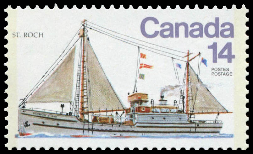 St. Roch Canada Postage Stamp