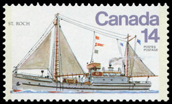 St. Roch Canada Postage Stamp | Ships of Canada, Ice Vessels