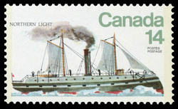 Northern Light Canada Postage Stamp | Ships of Canada, Ice Vessels