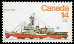 Labrador Canada Postage Stamp | Ships of Canada, Ice Vessels