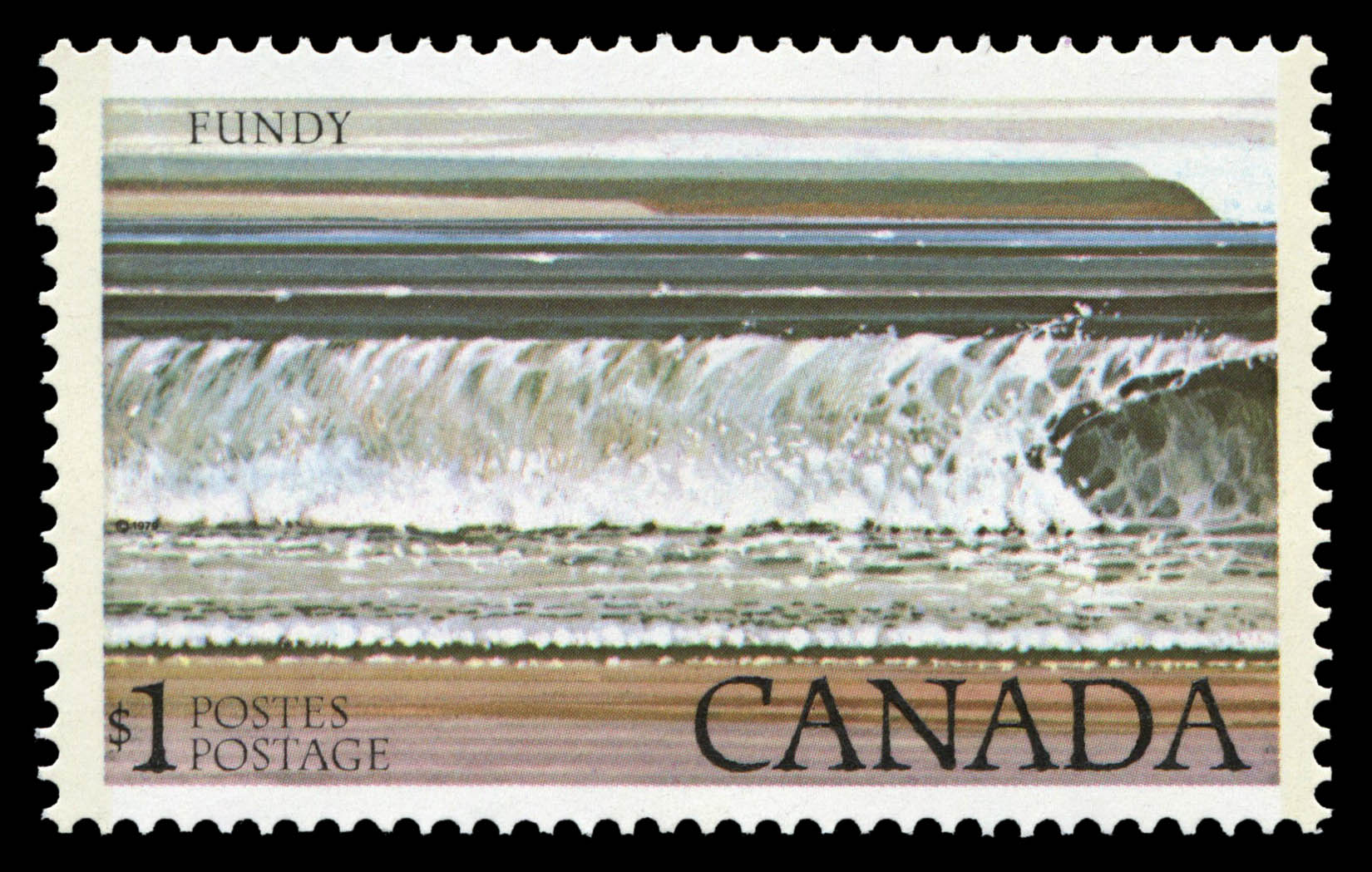 Fundy Canada Postage Stamp