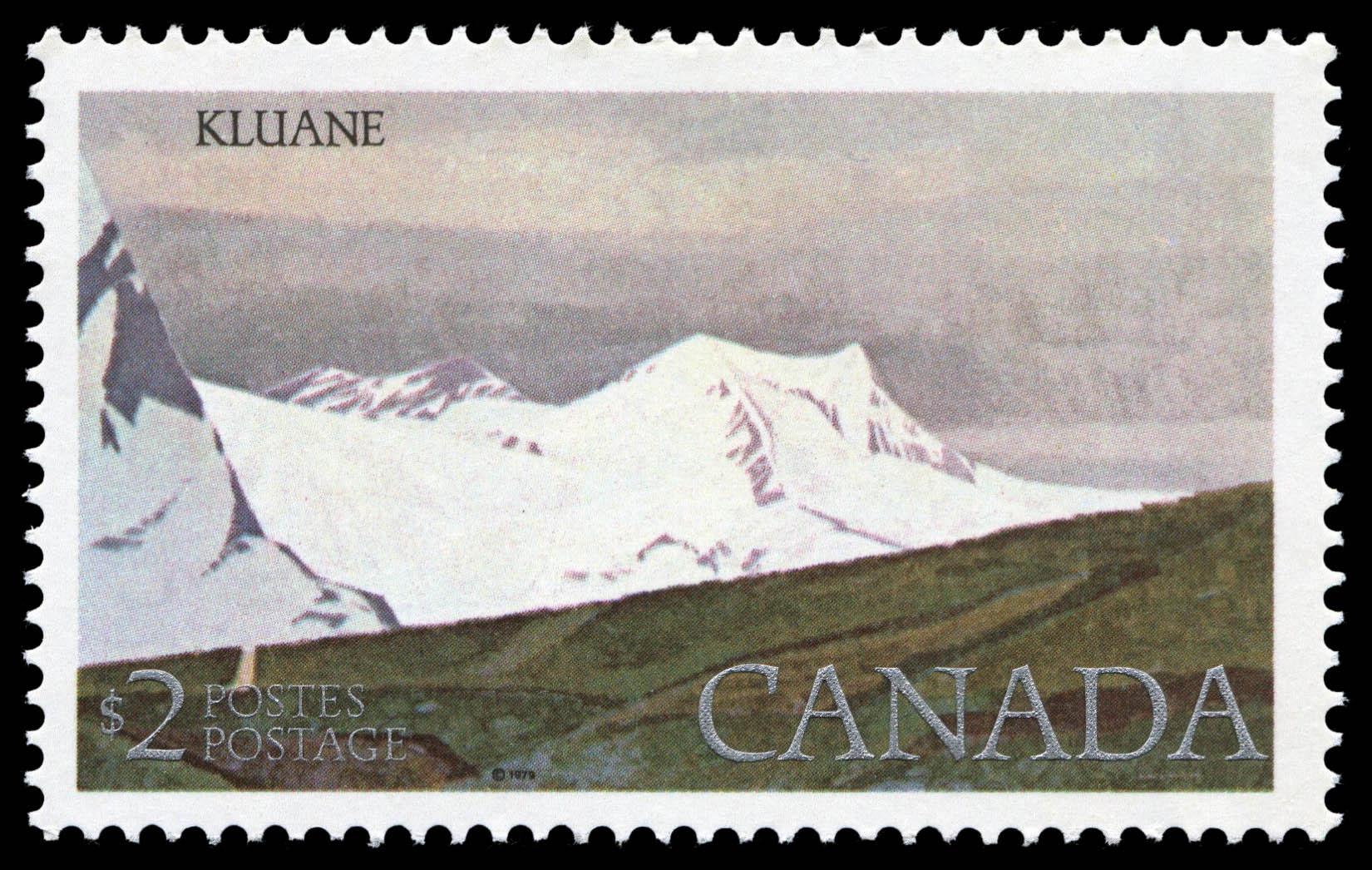 Kluane Canada Postage Stamp