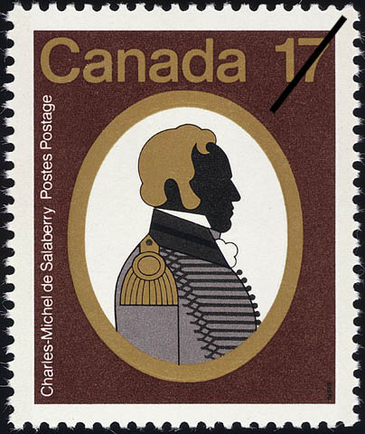 Charles-Michel de Salaberry Canada Postage Stamp | Canadian Colonels