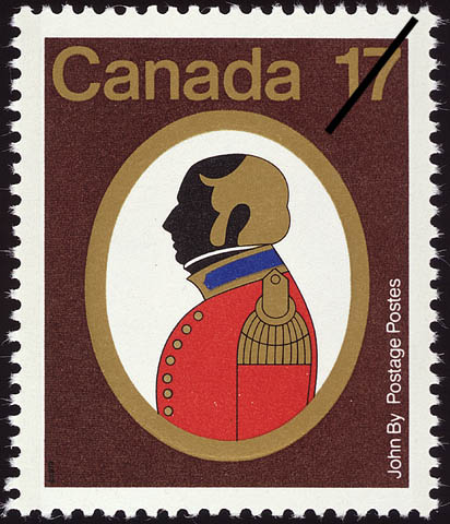John By Canada Postage Stamp | Canadian Colonels