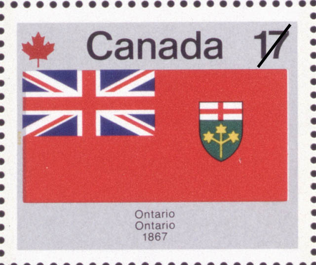 Ontario, 1867 Canada Postage Stamp