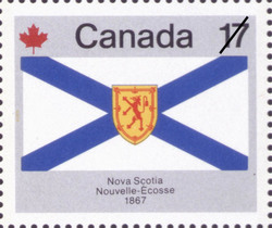 Nova Scotia, 1867  Postage Stamp