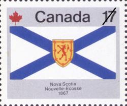 Nova Scotia, 1867 Canada Postage Stamp | Canada Day
