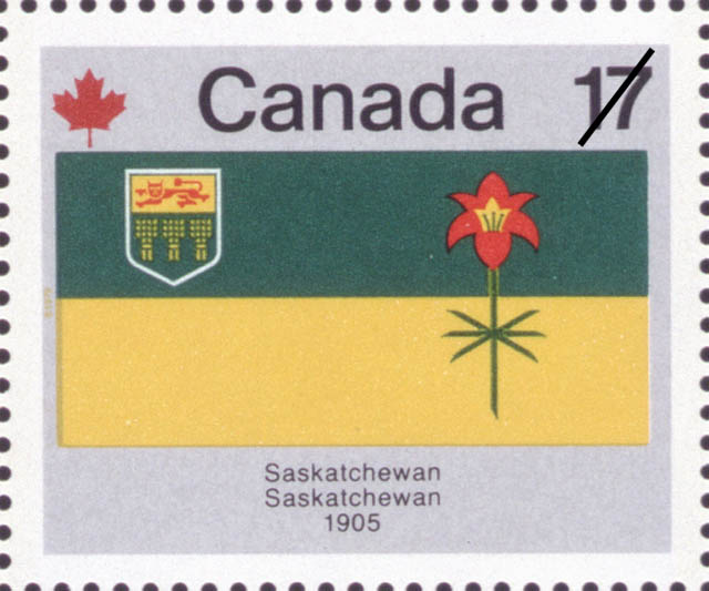 Saskatchewan, 1905 Canada Postage Stamp