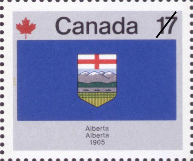 Alberta, 1905 Canada Postage Stamp