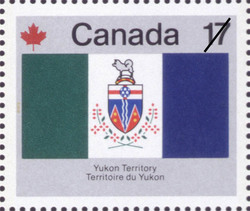 Yukon Territory Canada Postage Stamp | Canada Day