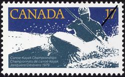 Canoe-Kayak Championships, Jonquiere / Desbiens, 1979 Canada Postage Stamp