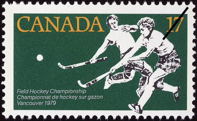 Field Hockey Championship, Vancouver, 1979 Canada Postage Stamp