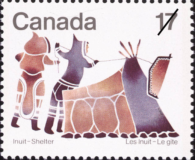 Summer Tent Canada Postage Stamp