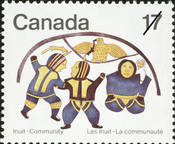 The Dance Canada Postage Stamp | Inuit, Community