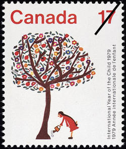 International Year of the Child, 1979, The Tree of Life Canada Postage Stamp