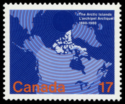 The Arctic islands, 1880-1980 Canada Postage Stamp