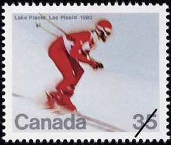 Lake Placid, 1980, Olympic Winter Games Canada Postage Stamp